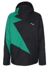 FLASH Jacke 2015 black/emerald
