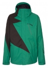 FLASH Jacke 2015 emerald/coffee
