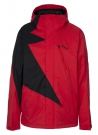 FLASH Jacke 2015 mars red/black