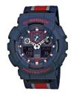 G-SHOCK GA-100MC-2AER Watch dark blue/red