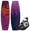THE HUSTLE FINLESS 136 2013 inkl. JOBE UNIT Boots