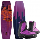 THE HUSTLE FINLESS 141 2013 inkl. THE HUSTLE Boots purple