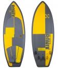 KOAL THRUSTER Wakesurfer 2014 matte grey/yellow