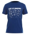 LET IT SNOW T-Shirt royal