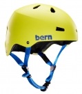 MACON EPS SKATE Helm 2014 matte neon yellow