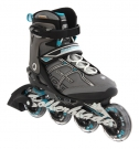 MACROBLADE 84 ALU W Inline Skate 2014 black/light blue
