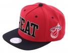 MIAMI HEAT XL SONIC LOGO Snapback Cap 2014 red/black