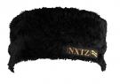 MINKY Headband black paisley