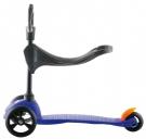 MINI Kickboard blue mit Sitz
