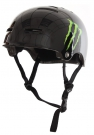 MONSTER SKULLCAP Skate Helm black