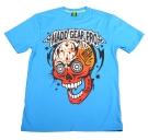 MUERTE SKULL T-Shirt 2013 blue
