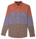 NEWARK CHAMBRAY LS Hemd 2014 blue
