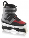 NJ4 Inline Skate grey/red