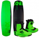 ONE ATR CARBON 138 2014 inkl. ONE Boots psycho green