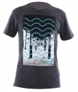 PIER WAVES T-Shirt 2014 heather black