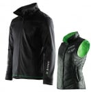 PROMO Jacke + Weste Set 2015 black/green lime