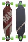 PIN STRIPES Longboard 2014 black/brown/green