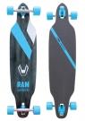 SOLITARY Longboard 2014 black/blue/white
