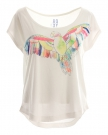 ROXY LIFE PARROT T-Shirt 2014 seaspray
