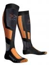 SNOWBOARD Socken 2014 anthracite/orange