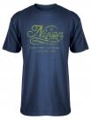 LIQUID TEXT T-Shirt 2014 navy