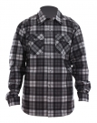 SEA SHELL Hemd 2013 flannel plaid charcoal