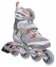 SPARK T 82 ALU W Inline Skate silver/orange