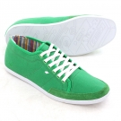 SPARKO CANVAS Schuh 2014 green wax/white sole