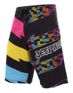 TECH TRICK Boardshort 2013 black/multi