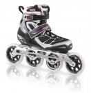 TEMPEST 100 W Inline Skate black/purple