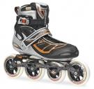 TEMPEST 100 Inline Skate 2014 silver/orange