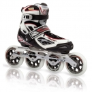 TEMPEST 100 W Inline Skate white/red