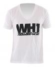 TYPO V-Neck T-Shirt white