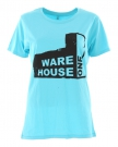 USED FACTORY Slim Fit Lady T-Shirt aqua