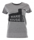 USED FACTORY Slim Fit Lady T-Shirt heather grey