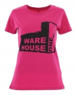 USED FACTORY Slim Fit Lady T-Shirt pink