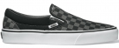CLASSIC SLIP-ON Schuh 2014 checkerboard black/pewter