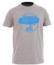 WAKEOHOLIC T-Shirt grey melange