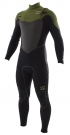 XERO FURNACE ENDURO 5/4 CHEST ZIP Full Suit 2015 cypress