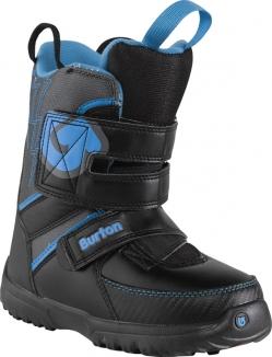 Ботинки Burton 2014 GROM BLACK/GRAY/BLUE.