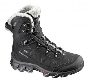 SALOMON NYTRO GTX W Schuh 2014 black/asphalt/titanium - 38