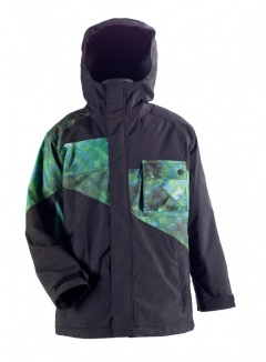 NITRO BOYS DECADES Jacke 2012 black/stardust