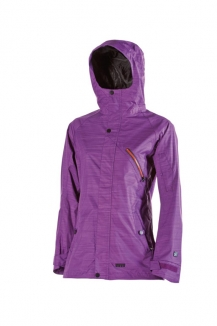 NITRO ELIXER Jacke 2013 purple recycled poly