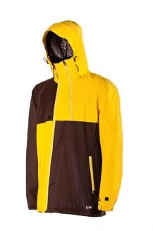 NITRO WIRE Jacke 2013 yellow/coffee