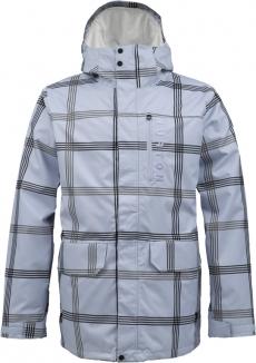 BURTON MOB SYSTEM Jacke 2013 exeter prospect plaid/stout white liner
