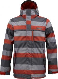 BURTON POACHER Jacke 2013 marauder servus stripe