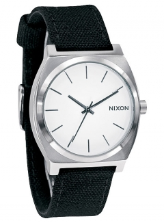 Uhr Nixon Time Teller CANVAS Watch white/canvas