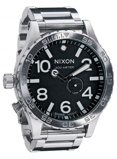 Uhr NIXON 51-30 Watch black