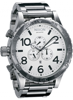 Uhr Nixon 51-30 Chrono Watch white