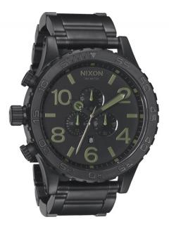 Uhr Nixon 51-30 Chrono Watch matte black/surplus